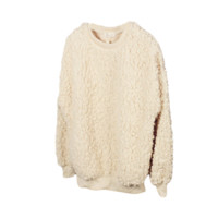 Wooly Pullover Sweater