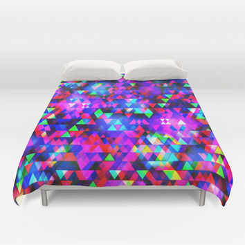 Creation Lights Duvet Cover by Ornaart