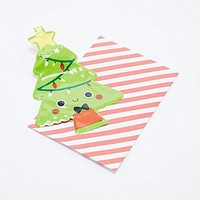 Blow Up Tree Christmas Card - Urban Outfitters
