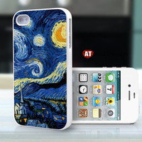 iphone 4 case iphone 4s case iphone 4 cover moon paint Colours  printing ($13.99)