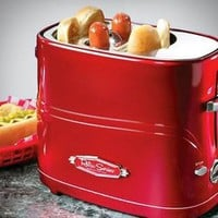 Retro Pop-Up Hot Dog Toaster | materialicious