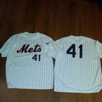 New York Mets Tom Seaver Jersey Shirt Size XL 60s 70s VTG MOB Throwback from Deadstock Dynasty