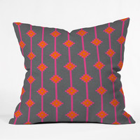 """Holli Zollinger indie star bright Throw Pillow - Indoor / 26"""" x 26"""" / Pillow Cover Only"""