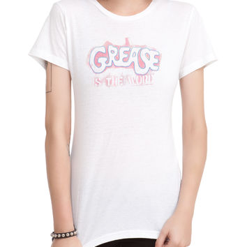 Grease Is The Word Girls T-Shirt