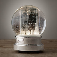 Starry Light Photo Snow Globe