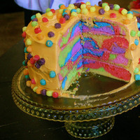 michelle my belle: Colorful Cake