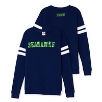 Seattle Seahawks Bling Crewneck Tee - PINK - Victoria's Secret