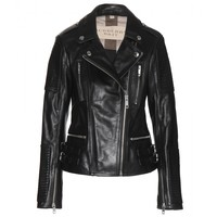 burberry brit - mossfield leather jacket