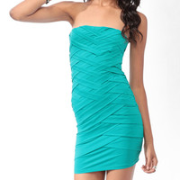 Lattice Tube Dress