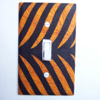 African Safari Single Toggle Switchplate