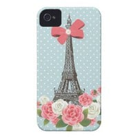Spring in Paris Iphone 4 Covers from Zazzle.com