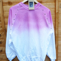 Dip Tie Dye Studded Sweater
