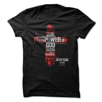 This Shirt is ILLegal in 51 Countries, Christian Tshirt