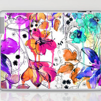 Lost in Botanica Laptop & iPad Skin by Holly Sharpe | Society6