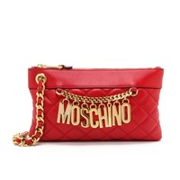 Moschino Quilted Moschino Clutch