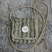 Handmade Spirit Pouch called Winter's Kiss, Made with Love