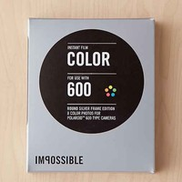 Impossible Round Frame Silver Film For 600- Silver One