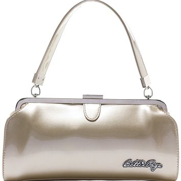 """Bettie Page Cover Girl"" Purse by Sourpuss Clothing (Gold)"