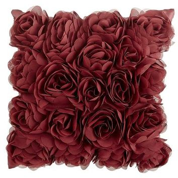 Mini Rosette Pillow - Cabernet$9.98$19.95