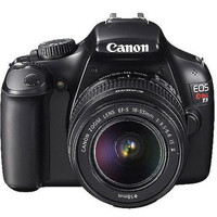 "Walmart: Canon EOS Rebel T3 Black 12.2MP DSLR Camera, EF-S 18-55mm 1:3.5-5.6 IS II Lens, 2.7"" LCD, EOS Full HD Movie Mode"