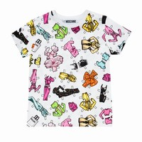 Moschino All Over Printed T-Shirt