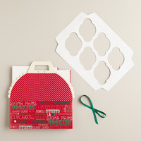 Holiday Cupcake Carrier Gift Box - World Market