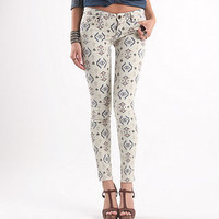 South Tribe Printed Skinniest Jeans