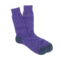 J.Crew Mens Small Dot Socks