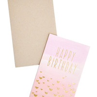 Happy Birthday Fade Card - Fade