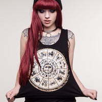 Zodiac Crop Tank - Large