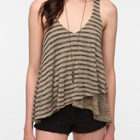 Sparkle &amp; Fade Double Layer Sweater Knit Tank