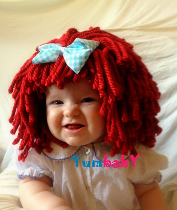 Red Wig For Toddler 87