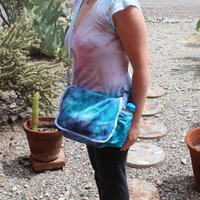 Tiedye Hippie Messenger Book Bag