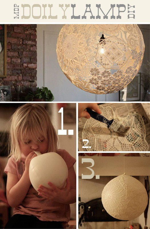 DIY / I don't think I have the patience to do it, but it's so fantastic.
