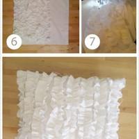 diy creativeness / love ruffles.