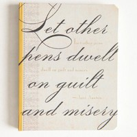 jane austen mini journal at ShopRuche.com