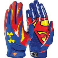 Under Armour Youth Alter Ego Superman F4 Receiver Gloves | DICK'S Sporting Goods