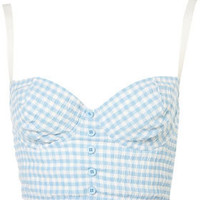 Pastel Gingham Bralet - Sale  - Sale & Offers