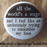 all the world's a stage by beanforest on Etsy