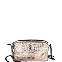 Loeffler Randall - Crinkled Metallic Leather Pouch Shoulder Bag - Saks Fifth Avenue Mobile