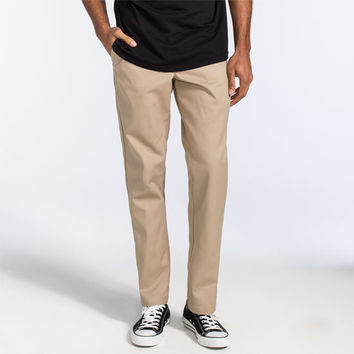 Dickies 850 Slim Taper Flex Mens Pants Khaki  In Sizes