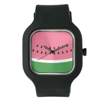 Abastract Watermelon Watch