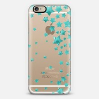 Starry Magic Turquoise (transparent) iPhone 6 case by Lisa Argyropoulos | Casetify