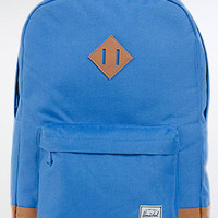 The Heritage Backpack in Cobalt & Tan