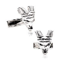 Rams Head Cufflinks-CLI-RR-290