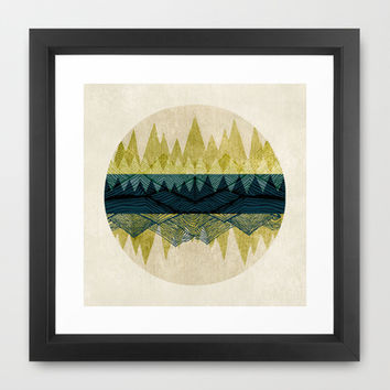 Exhale Framed Art Print by rskinner1122