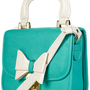 Turquoise Lady Bow Bag - Bags & Purses  - Accessories