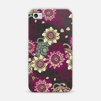 Flower Garden iPhone 4/4S case by Rose | Casetify