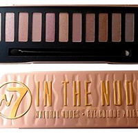 W7 Natural Nudes Naked Eye Colour Palette New (W7 - 'In The Nude')