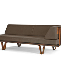 case study bentwood daybed with arm